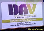 DISABLED AMERICAN VETERANS- Custom VINYL BANNER